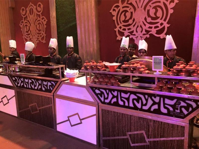 Chaat Catering at UMRAO Farms & HOTELS in Delhi